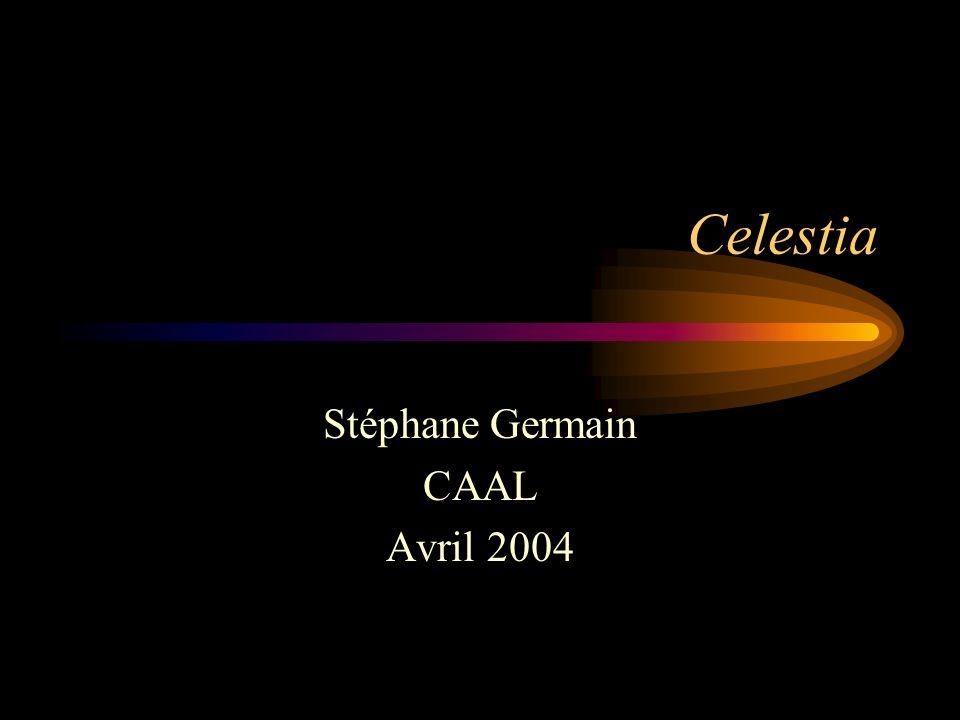 Celestia Stéphane Germain CAAL Avril 2004