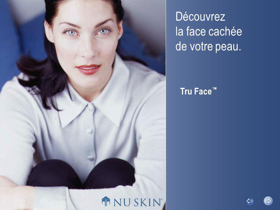 Découvrez la face cachée de votre peau. Tru Face