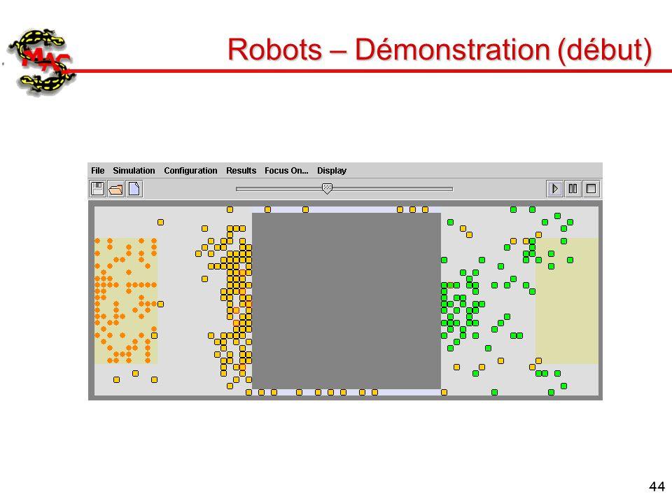 44 Robots – Démonstration (début)