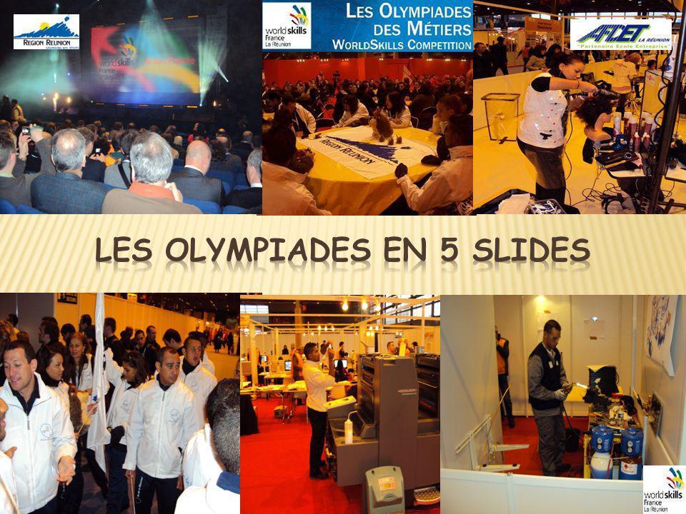 Les Olympiades des Métiers représentent un formidable outil de coopération, douverture de valorisation et de promotion, au niveau : régional, national et international.