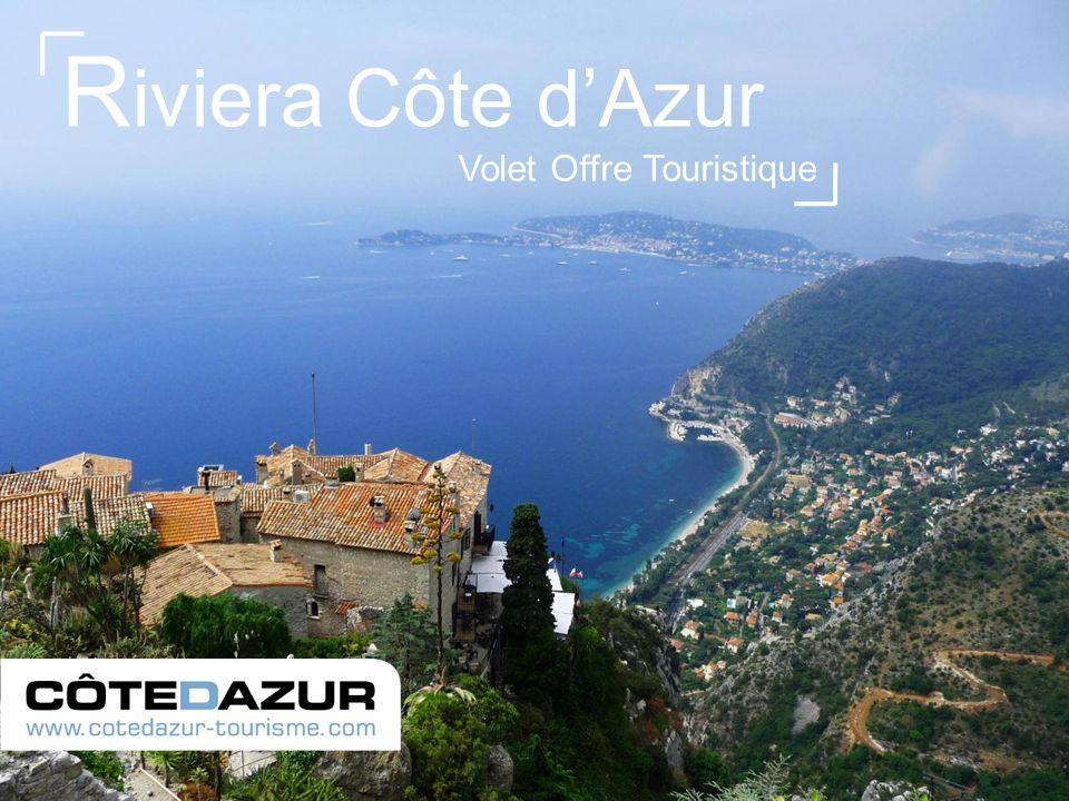 Volet Offre Touristique R iviera Côte dAzur