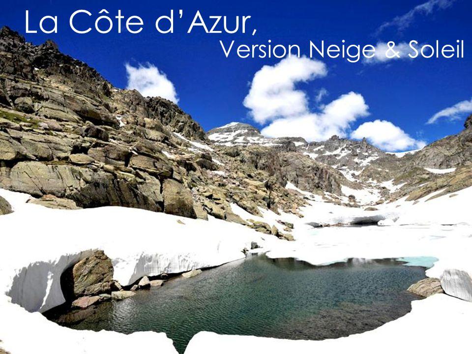 La Côte dAzur, Version Neige & Soleil