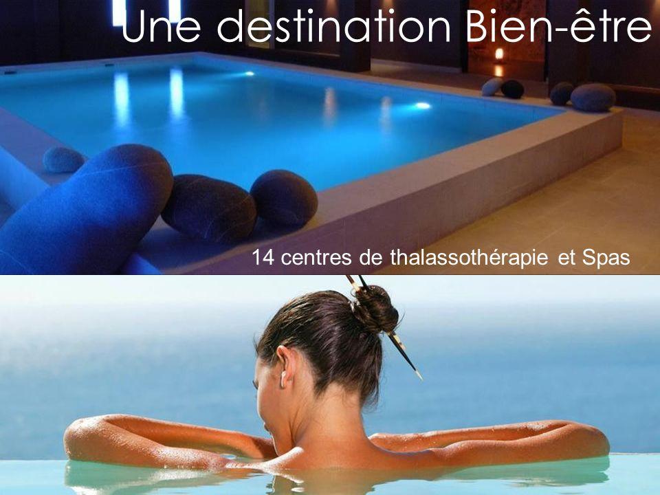 Une destination Bien-être 14 centres de thalassothérapie et Spas