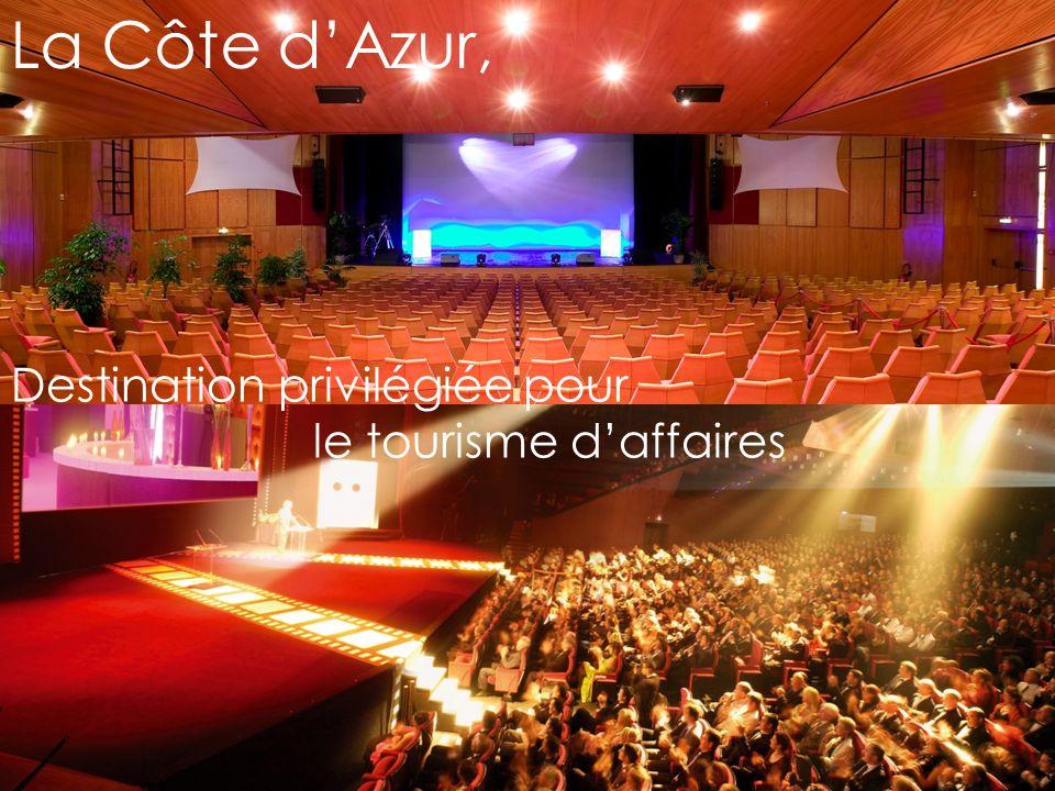 La Côte dAzur, Destination privilégiée pour le tourisme daffaires