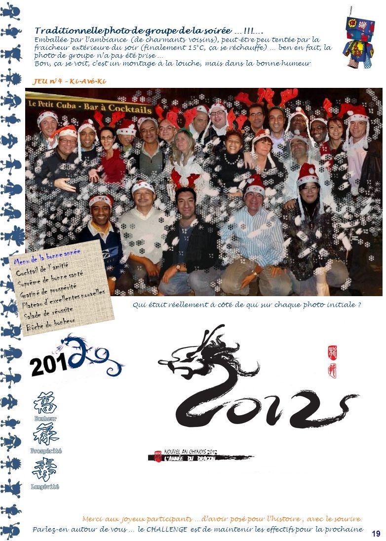 18 Vieux motards que jaimais …. Petit jeu rapide et premiers messages pour les vœux de nouvelle année …. JEU n°3 – Céta-Ki 2 noms à trouver Le saviez-