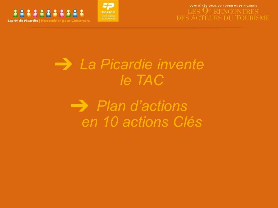 La Picardie invente le TAC Plan dactions en 10 actions Clés