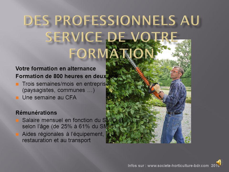 Le CFA est situé à Marseille dans un parc de deux hectares Il bénéficie des collections botaniques de la Société dHorticulture Il sinscrit dans la vie