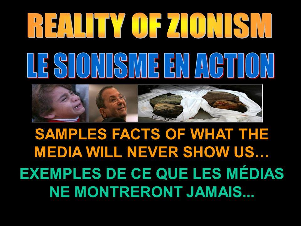 SAMPLES FACTS OF WHAT THE MEDIA WILL NEVER SHOW US… EXEMPLES DE CE QUE LES MÉDIAS NE MONTRERONT JAMAIS...