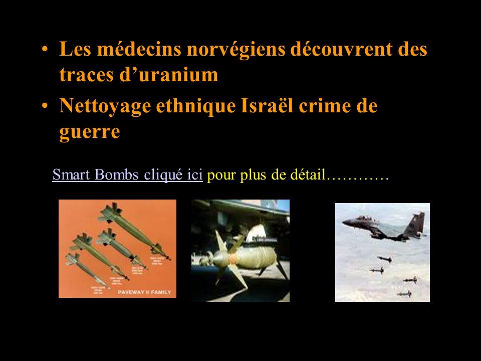 lutilisation des bombes à sous-munition par Israël…à Gaza Palestine Une image d un obus lancé sur Gaza aujourd hui