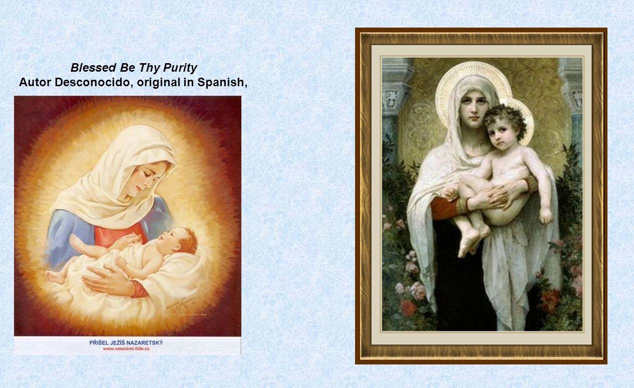 Beloved Divine Goddess Song, Unknown Author, original in Spanish,