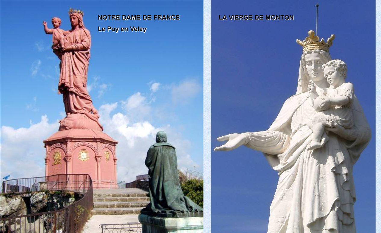 NOTRE DAME DE FRANCE Le Puy en Velay LA VIERGE DE MONTON