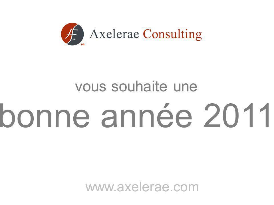 www.axelerae.com vous souhaite une bonne année 2011