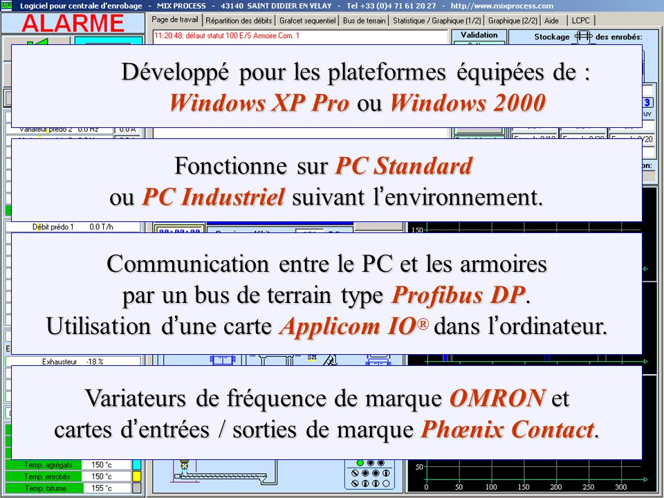 Développé pour les plateformes équipées de : Windows XP Pro ou Windows 2000 Développé pour les plateformes équipées de : Windows XP Pro ou Windows 200