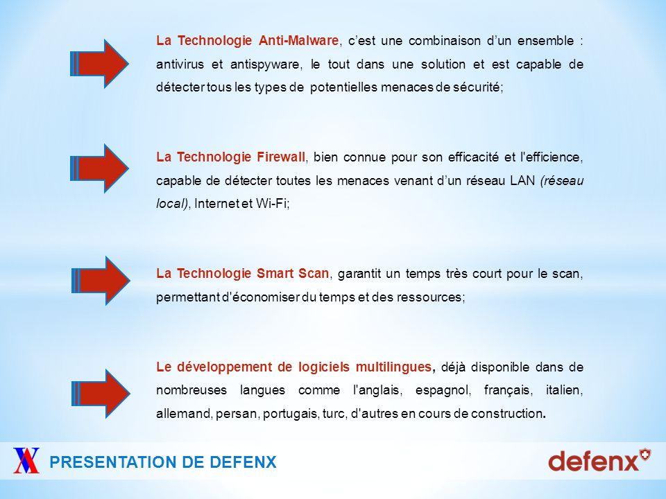 Présence directe Distributeur Defenx SA a une présence internationale grâce à des partenariats en France, Hollande, Danemark, Grèce, Royaume-Uni, Allemagne, Espagne, Brésil, Indonésie, Iran, Turquie et une présence directe en Italie.