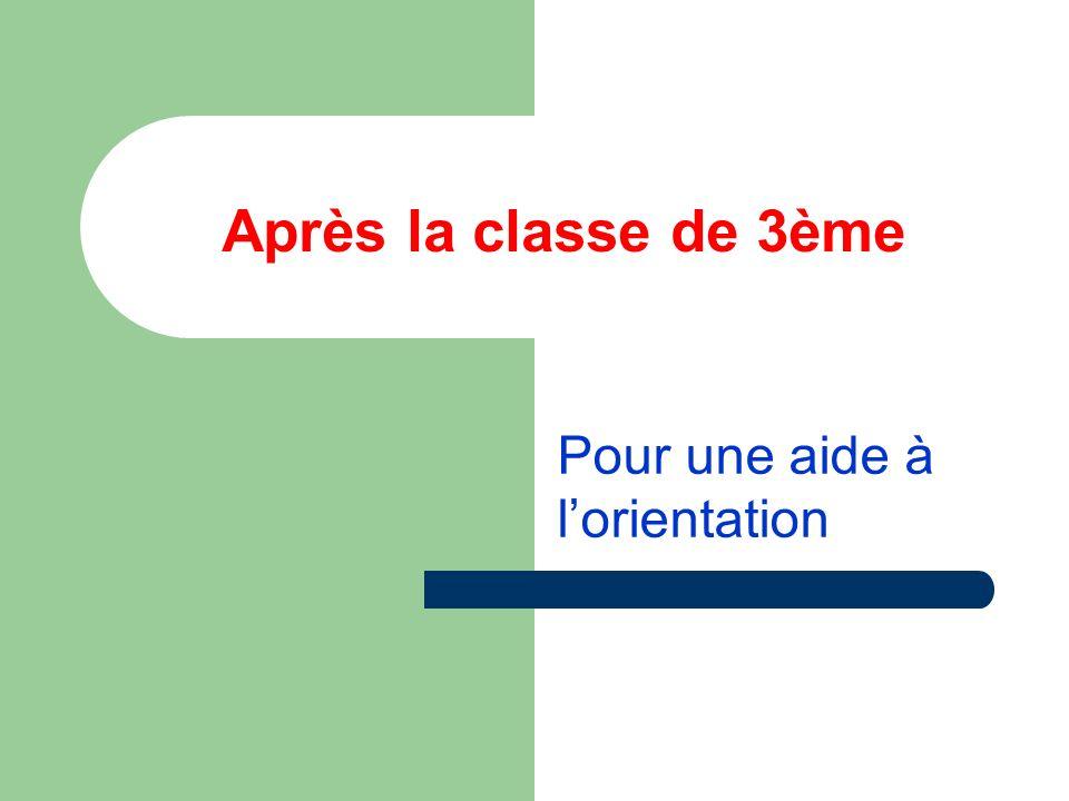 Le collège: une organisation en 3 cycles 6ème = cycle dadaptation 5ème et 4ème = cycle central 3ème = cycle dorientation