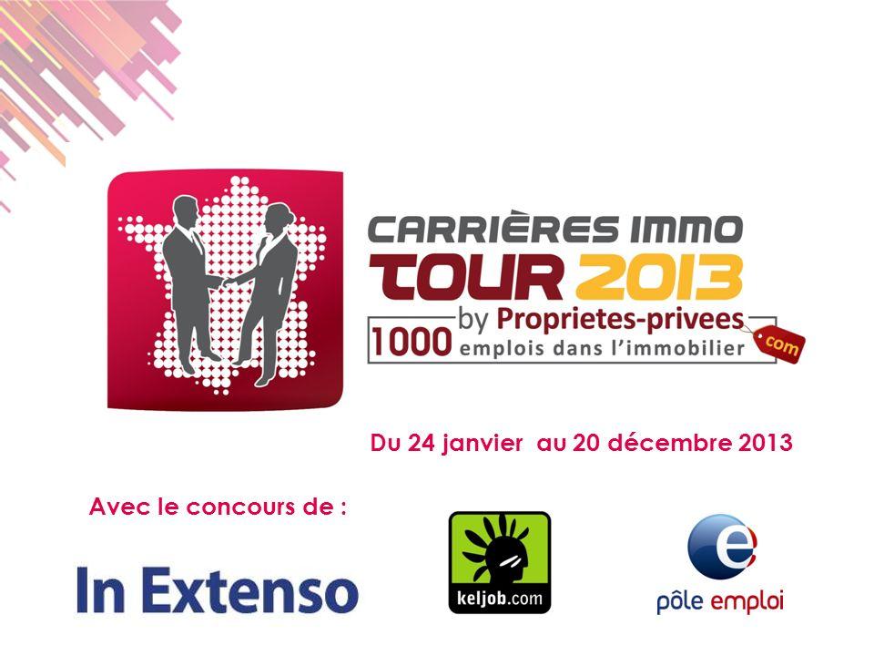 Avec le concours de : Du 24 janvier au 20 décembre 2013