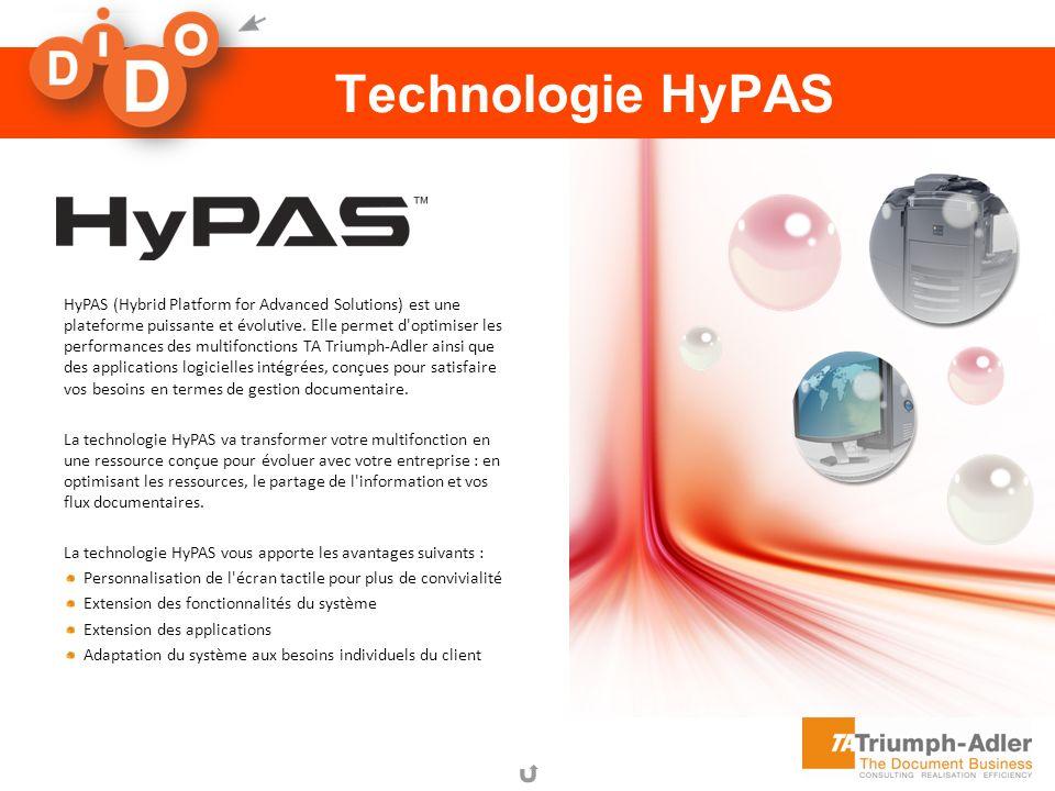 aQrate Technologie HyPAS HyPAS (Hybrid Platform for Advanced Solutions) est une plateforme puissante et évolutive. Elle permet d'optimiser les perform