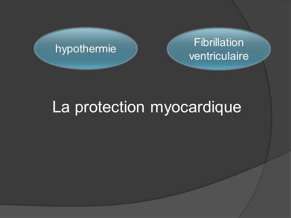 La protection myocardique hypothermie Fibrillation ventriculaire