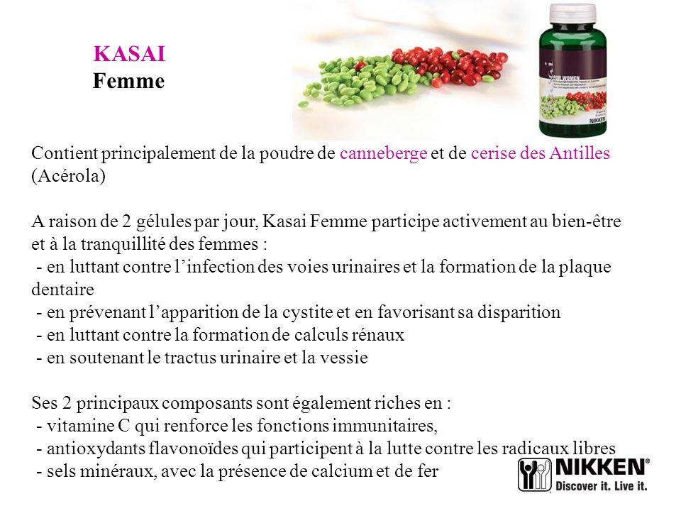 KASAI Multi-vitamines et Minéraux Une association de vitamines et de minéraux pour booster tous les systèmes et les métabolismes du corps humain : - P