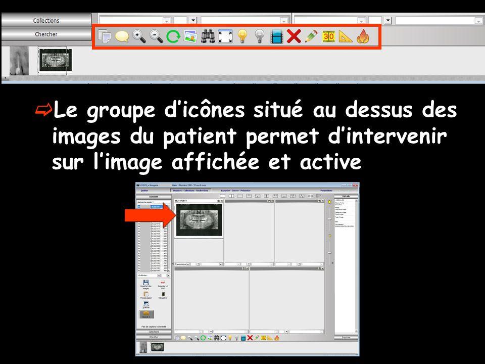 Presse-papier permet de placer dans le presse-papier de Windows limage en cours Limage peut alors être récupérée par un coller dans un courrier, un document …
