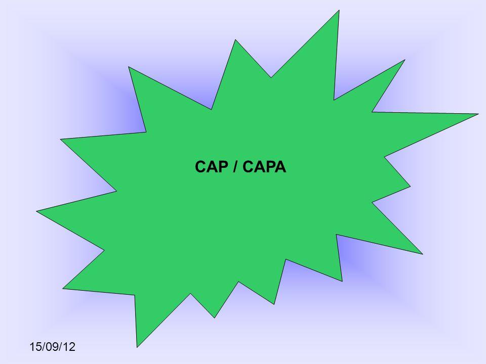 15/09/12 CAP / CAPA