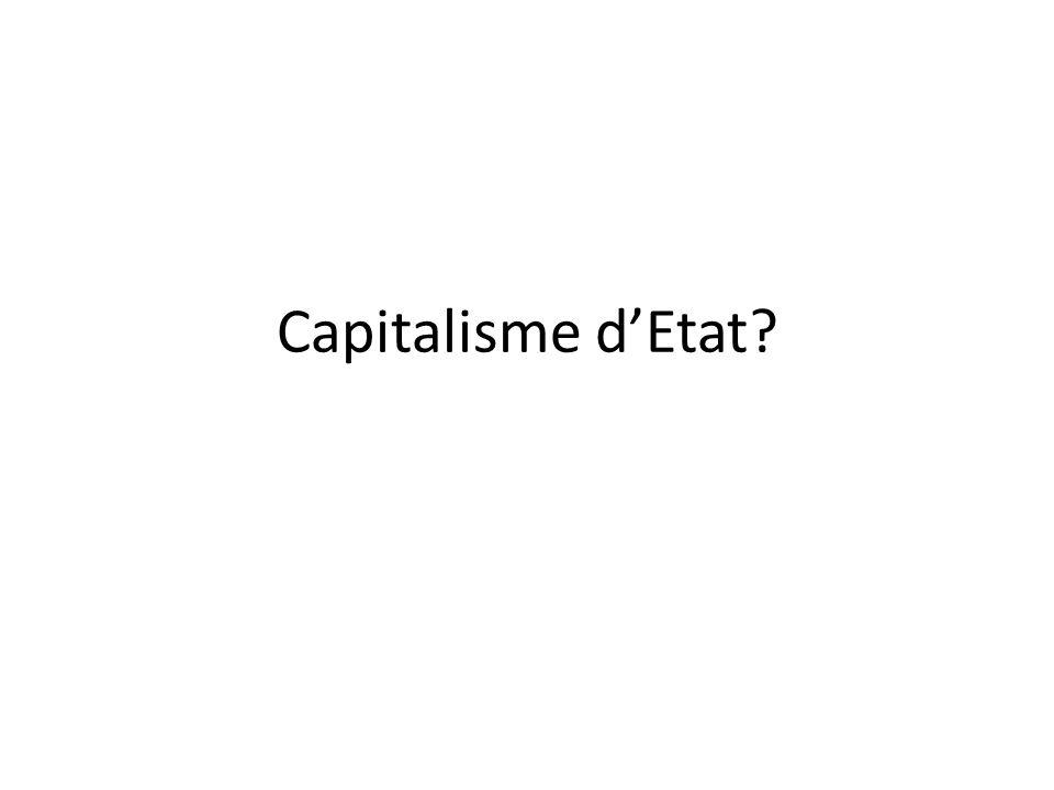 Capitalisme dEtat?