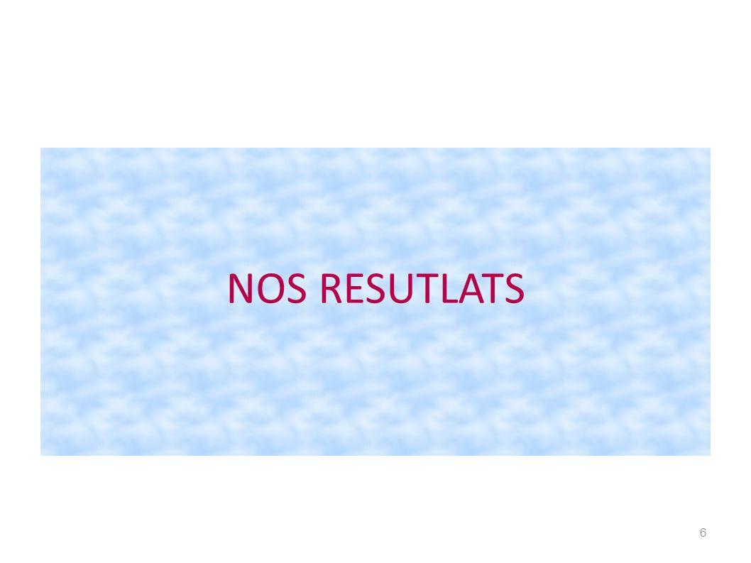 NOS RESUTLATS 6
