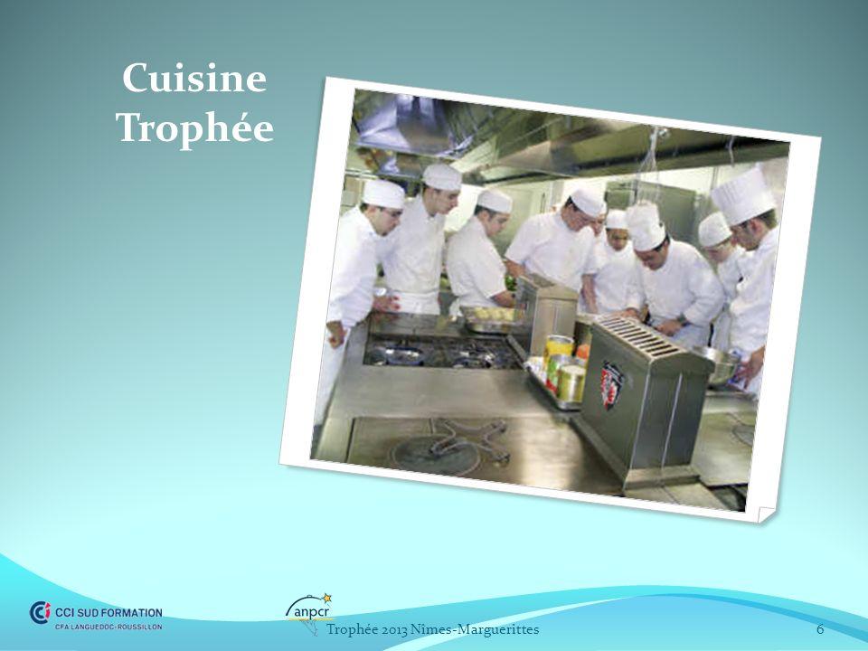 Cuisine Trophée 6Trophée 2013 Nîmes-Marguerittes