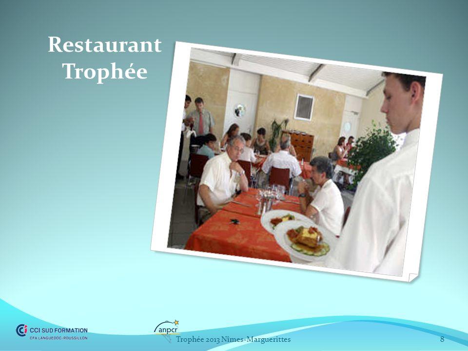 Restaurant Trophée 8Trophée 2013 Nîmes-Marguerittes