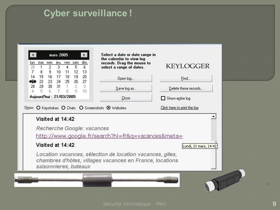 10 Sécurité Informatique - PAG Fin
