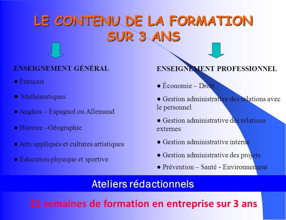 LES COMPÉTENCES DU GESTIONNAIRE ADMINISTRATIF Le spécialiste dactivités administratives doit : Prendre en charge des activités de gestion, commerciale