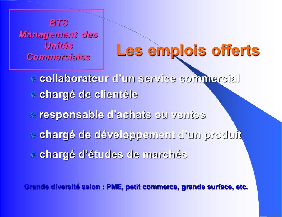 enseignement général enseignement technologique q Français q Économie et Droit q Analyse et Conduite de la Relation Commerciale q Management et gestio