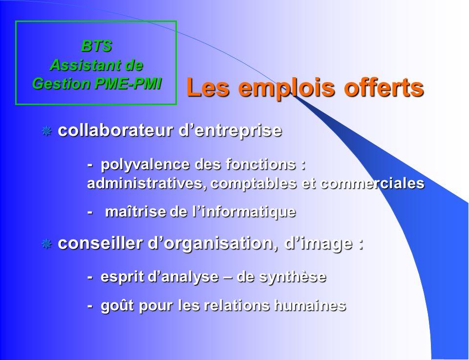 enseignement général enseignement technologique q Français q Économie et Droit q Méthode de gestion des PME-PMI q Actions professionnelles q Travaux d