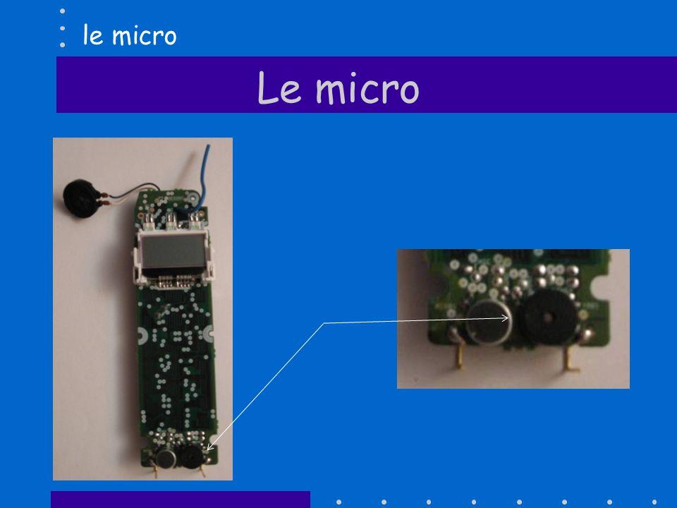 Le micro le micro