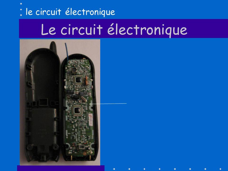 Le circuit électronique le circuit électronique
