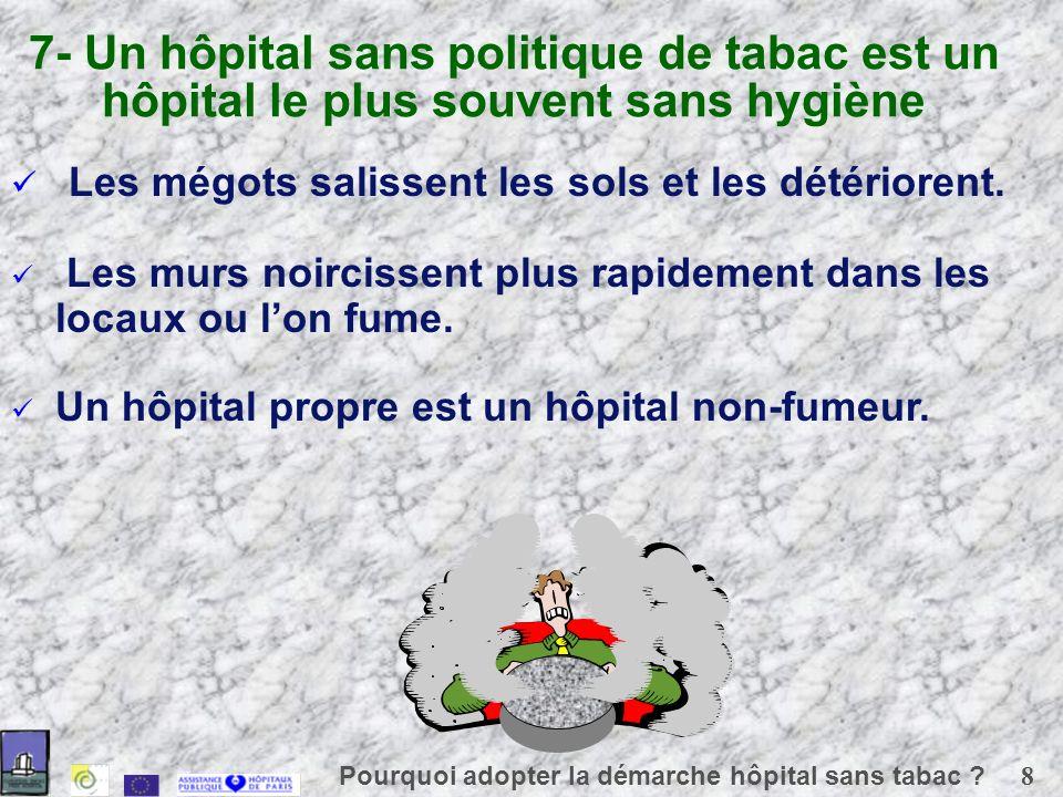 8 Pourquoi adopter la démarche hôpital sans tabac .