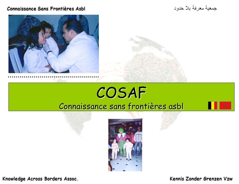 Connaissance Sans Frontières Asbl Connaissance Sans Frontières Asbl دود Knowledge Across Borders Assoc.