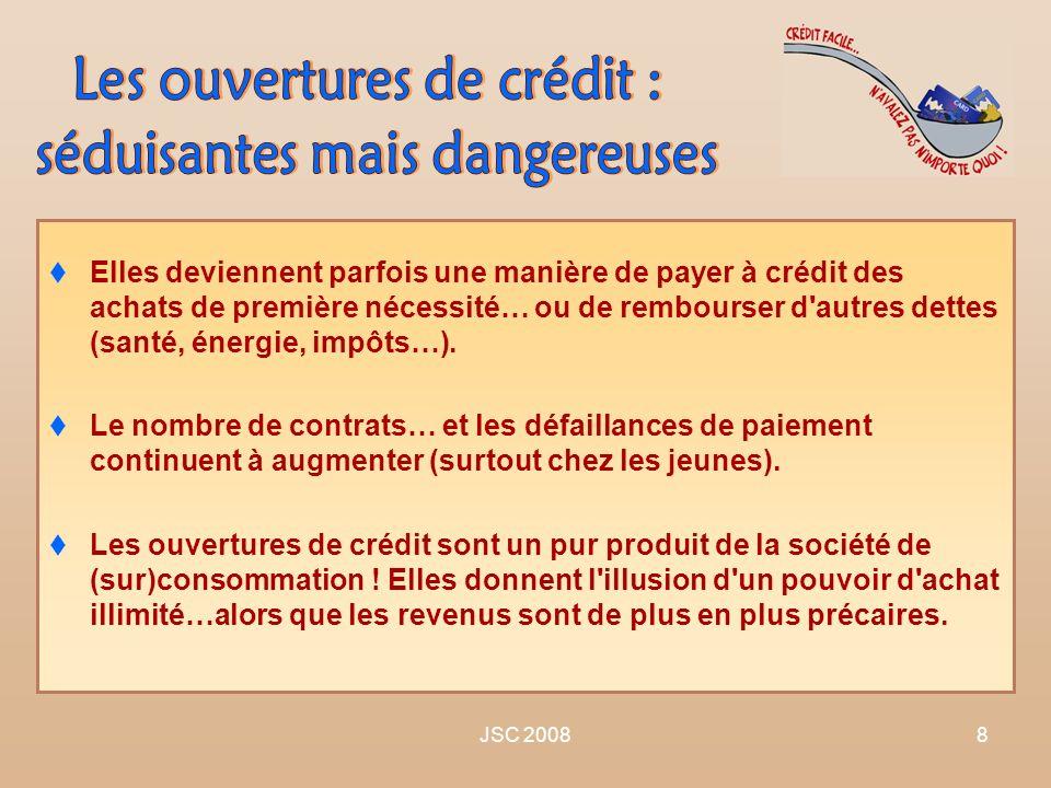 JSC 20088 Elles deviennent parfois une manière de payer à crédit des achats de première nécessité… ou de rembourser d'autres dettes (santé, énergie, i