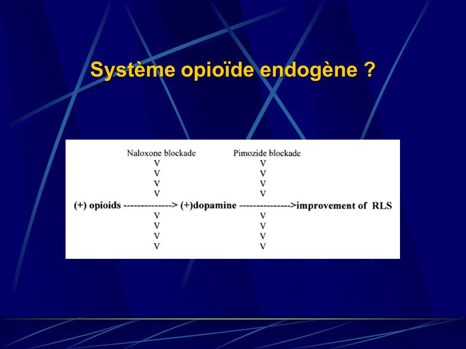 Système opioïde endogène ?