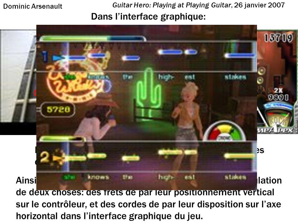 Le déroulement temporel synchrone du jeu se charge de simuler la troisième dimension: le rythme.