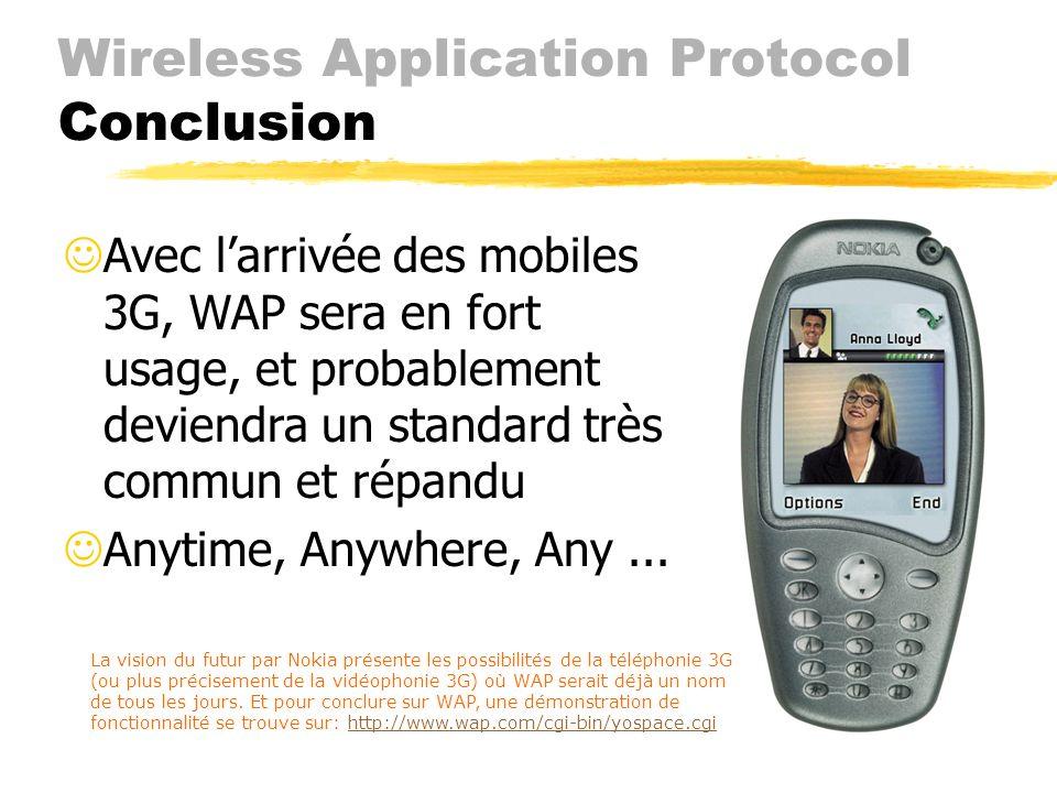 Wireless Application Protocol Applications (Hors-d'œuvre) Ericsson Communicatif Platform (en développement) avec écran couleur, connexion haute vitess