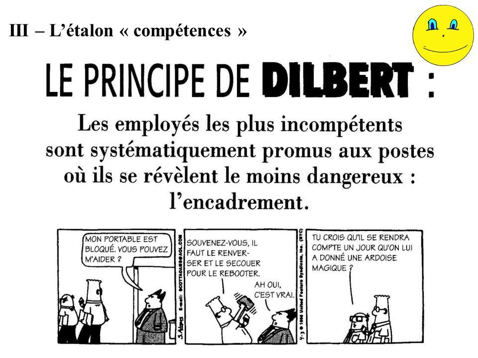 III – Létalon « compétences »