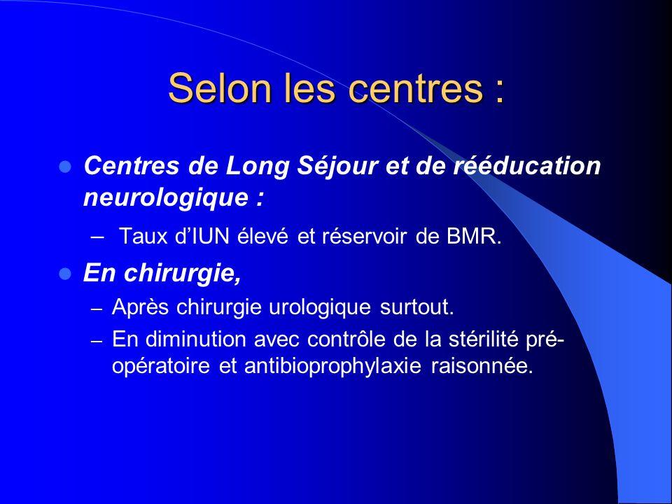Diagnostic bactériologique : BU Intérêt : – Possible au lit du patient.