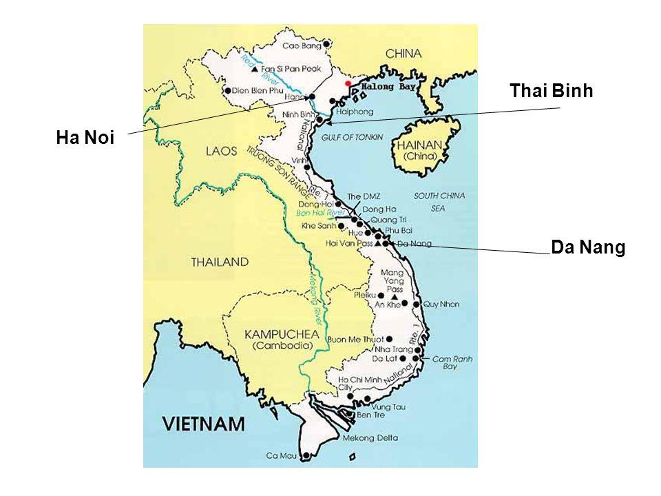 Thai Binh Da Nang Ha Noi