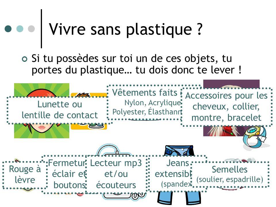 Vivre sans plastique .