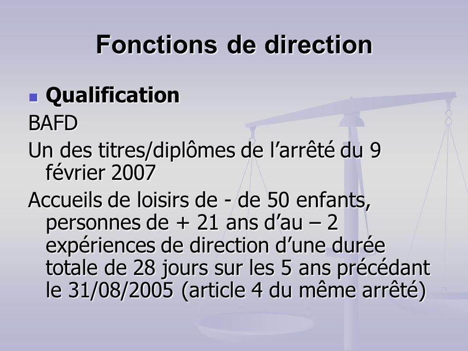 Encadrement : de nouveaux diplômes sur la liste Direction Direction Brevet dEtat dalpinisme DUT carrières sociales (option animation sociale et socioc