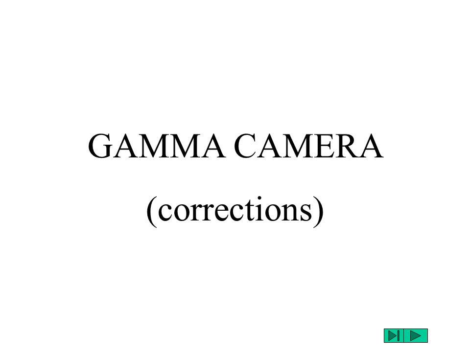 GAMMA CAMERA (corrections)