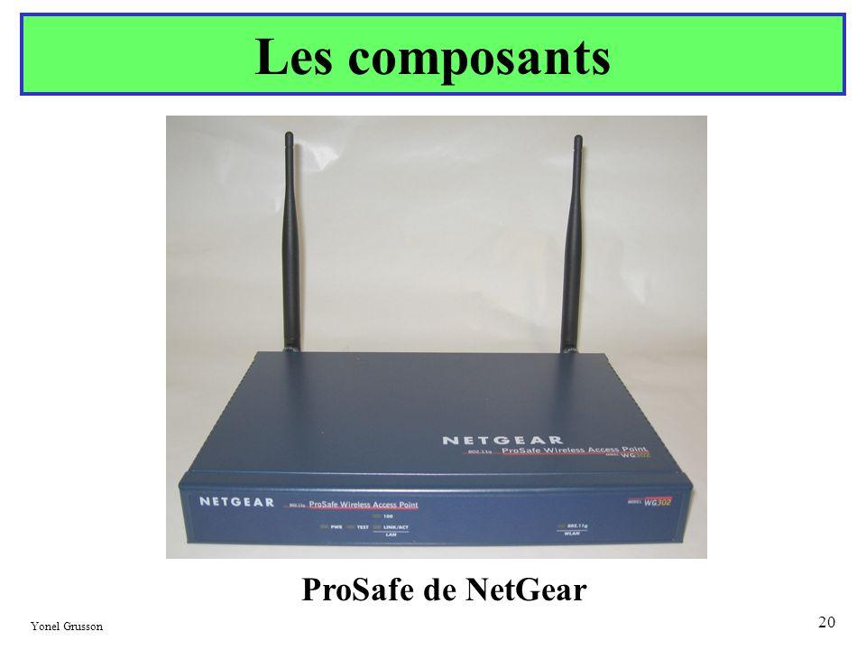 Yonel Grusson 20 Les composants ProSafe de NetGear