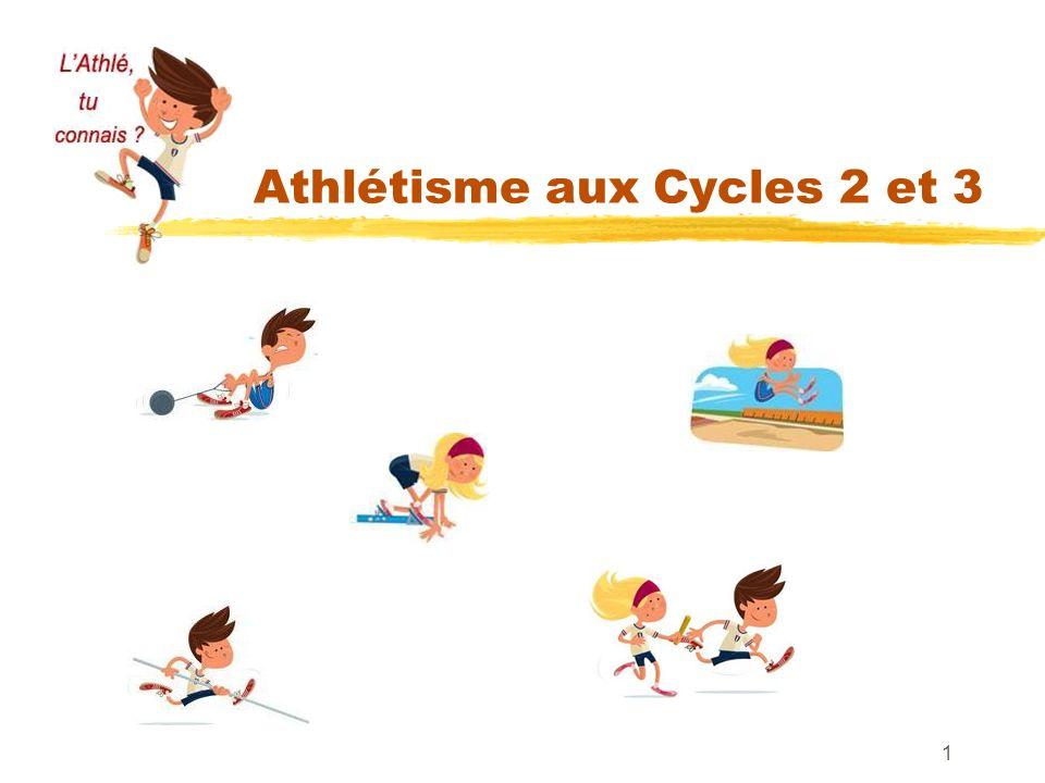 Athlétisme aux Cycles 2 et 3 1