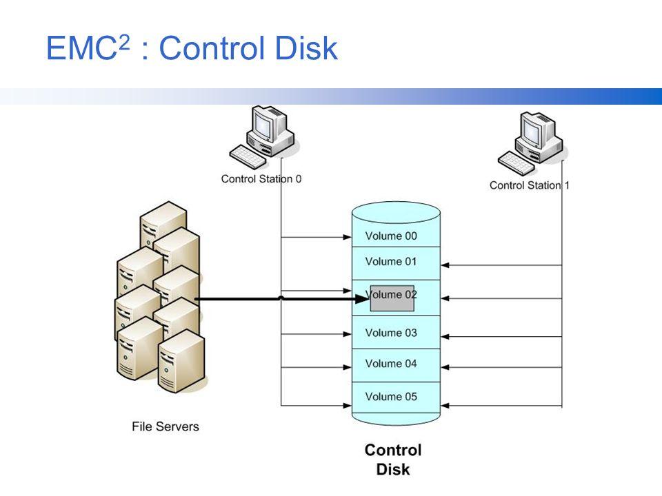 EMC 2 : Control Disk